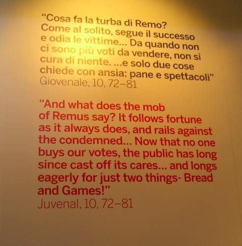 Монтаж поездки в Рим