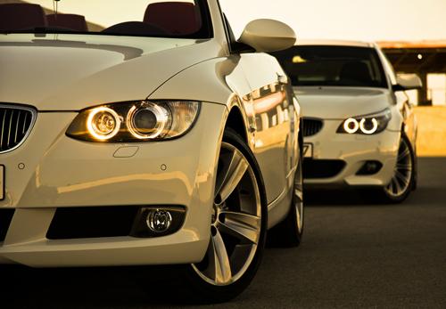 BMW M3. Кастинг моделей