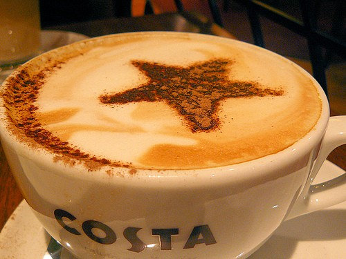 Кастинг. Costa Coffee