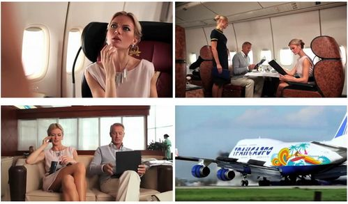 Кастинг - ТВ реклама авиакомпании Трансаэро