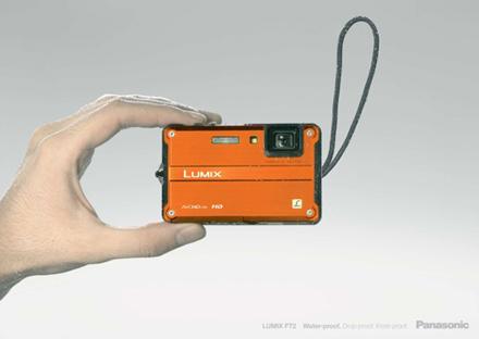 Кастинг - видеокамера Panasonic